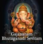 ganesha_gajananambhutaganadisevitam